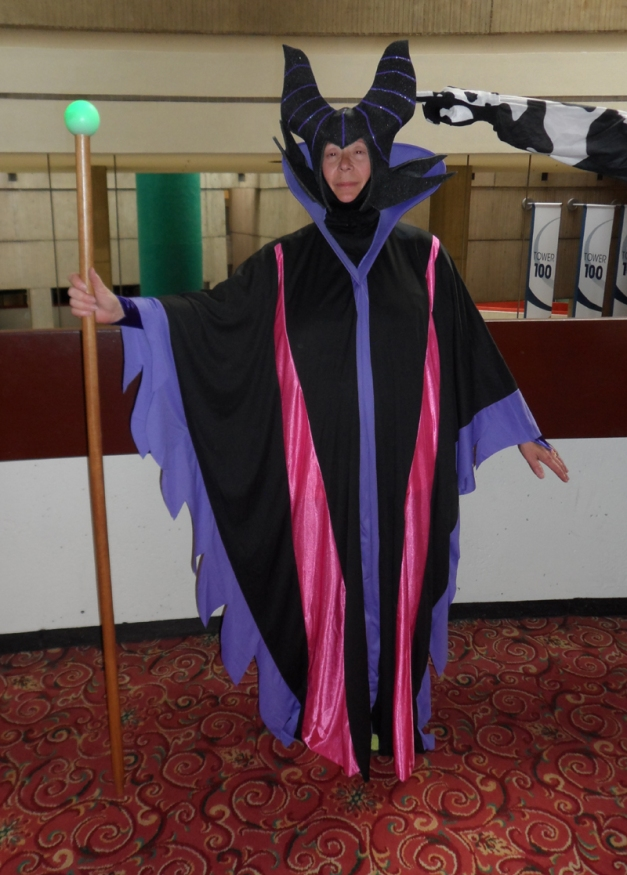 Maleficent with floppy horn assist at Detcon 1